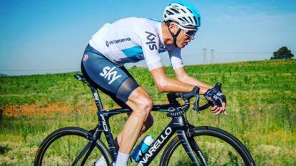 """Het is Froome menens met 1.000 trainingskilometers in één week tijd: """"Ik rijd 2018 nu al kapot"""" - Trentin breekt rib"""