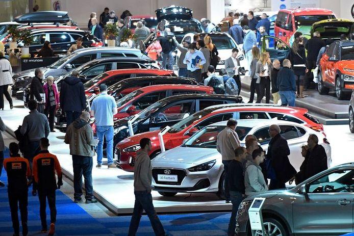 Toen het nog kon: de Belgische nationale autoshow in Brussel, in januari van dit jaar