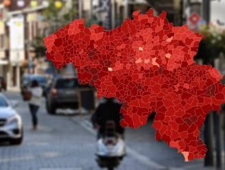 IN KAART. Meer dan 140 gemeenten onder hoogste alarmdrempel. Bekijk hier de situatie in uw regio
