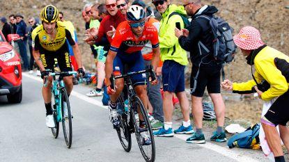 VIDEO. Aflevering 14 van 'In het wiel van de Giro', over hoe de eerste bergrit het klassement op zijn kop zette