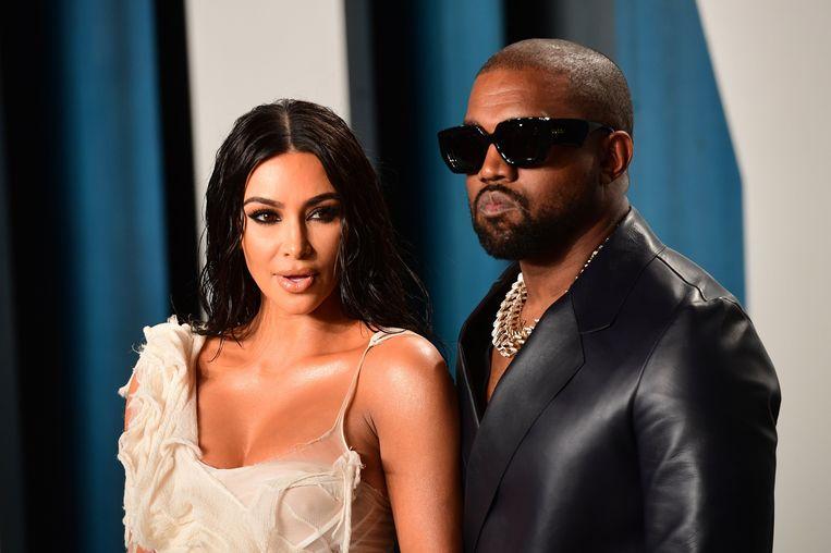 Kim Kardashian en Kanye West