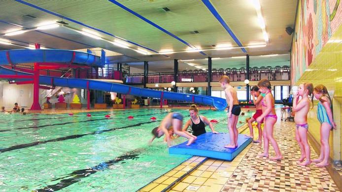 Zwembad Valkenhuizen in Arnhem.