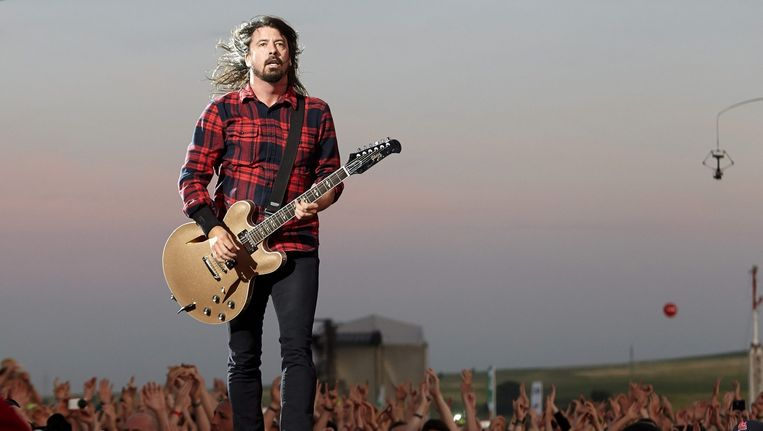 Dave Grohl van Foo Fighters. Beeld anp