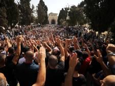 Grande manifestation anti-Macron à Jérusalem