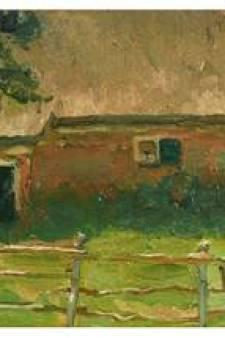 Drie vroege werken van Mondriaan verrijken collectie van Haags Kunstmuseum