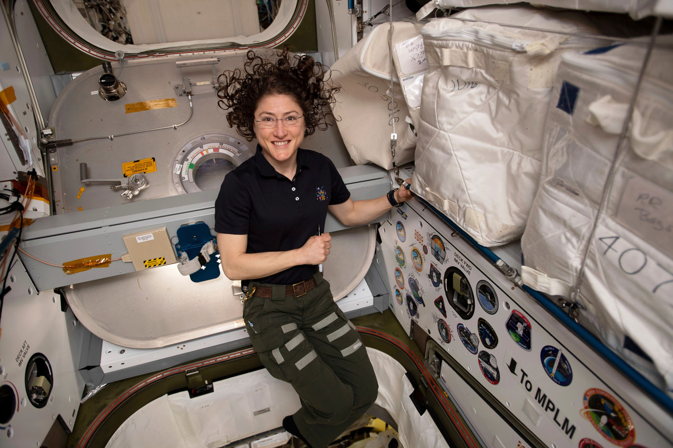 Koch in de ruimte.