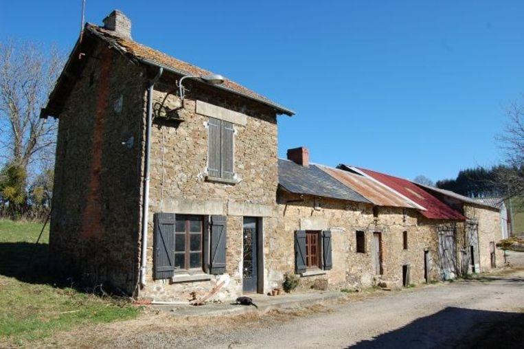 Huis in Frankrijk dat te koop staat.  Beeld 2ehuisinfrankrijk.com