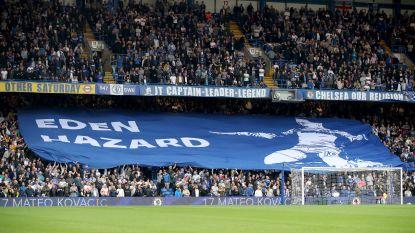 Hazard nog niet vergeten op Stamford Bridge