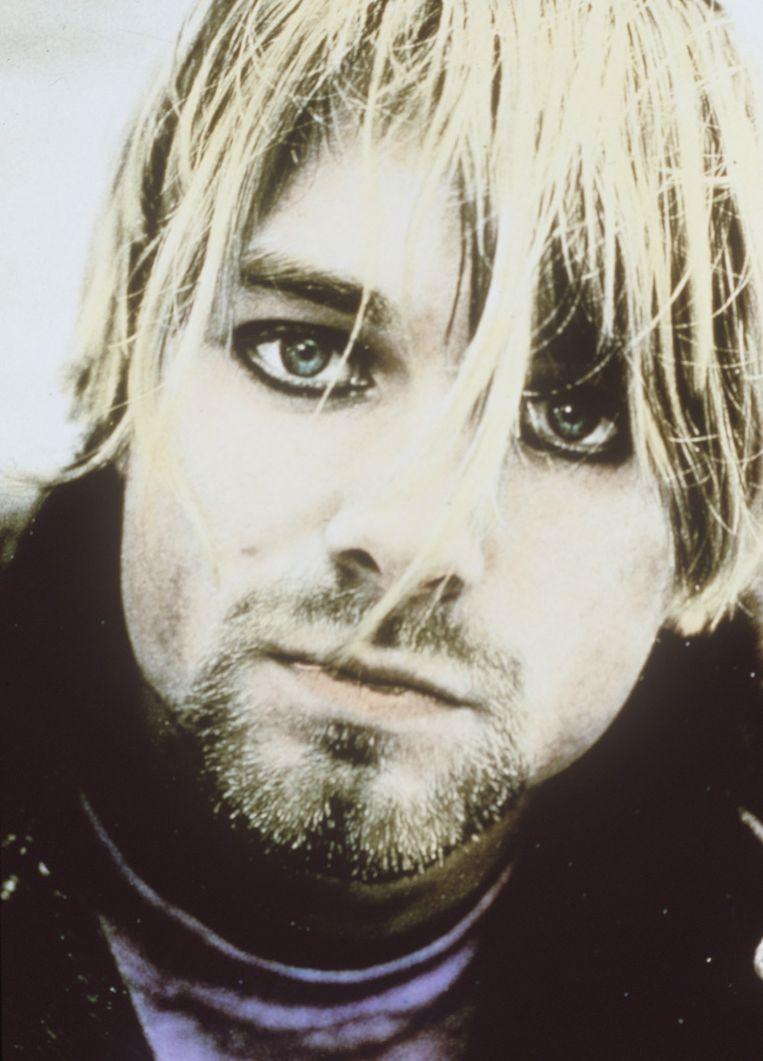 Kurt Cobain Beeld afp