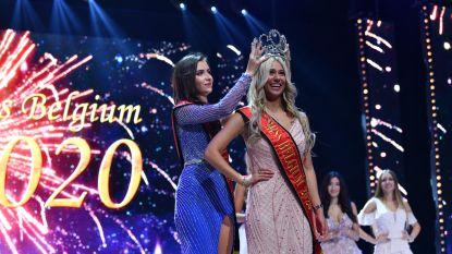 Celine Van Ouytsel (23) nieuwe Miss België ondanks val tijdens defilé