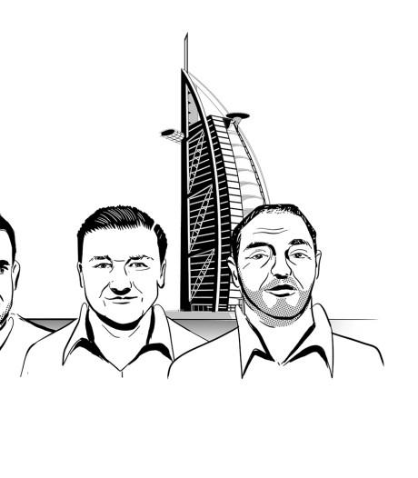 Bundelen cokekartels de krachten in Dubai?