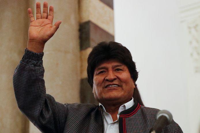 De Boliviaanse president Evo Morales.