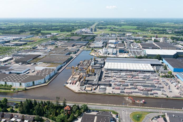 De Nieuwe Haven in Veghel is nu geschikt voor grotere schepen.