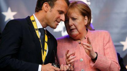 Merkel en Macron tekenen dinsdag vriendschapsverdrag