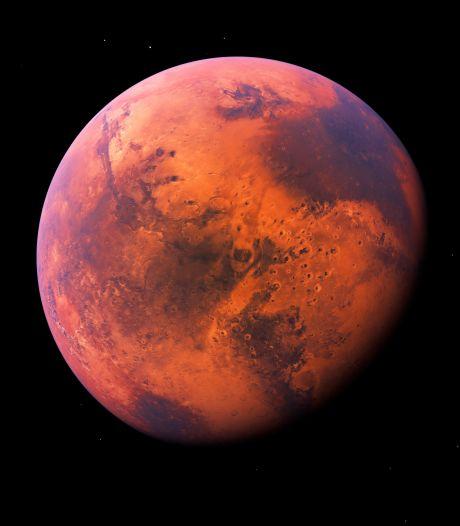 Vanavond ideaal weer om Mars te spotten