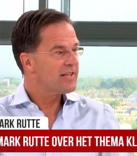 Rutte: 'Niet doorslaan met klimaat, we moeten lekker kunnen blijven barbecueën'