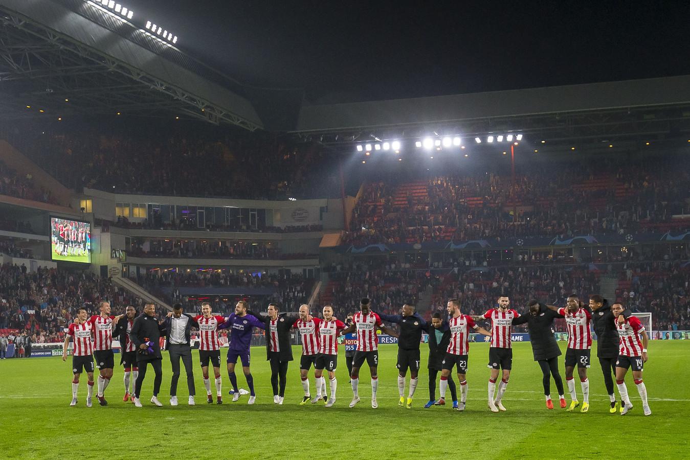 Een loodzware loting voor PSV.