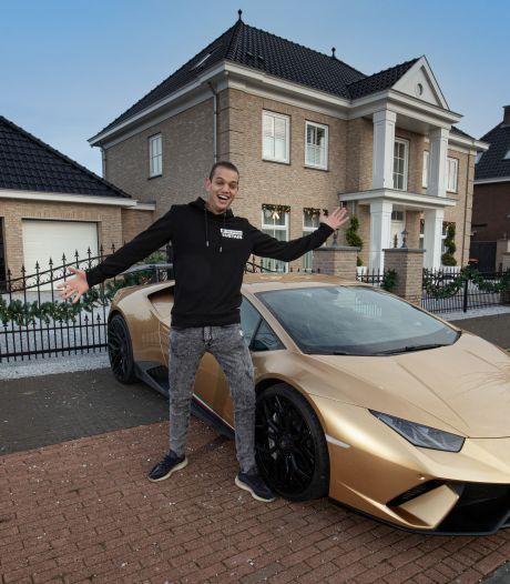 Multimiljonair in gouden Lamborghini verovert Nederland met badkamertegels én YouTube