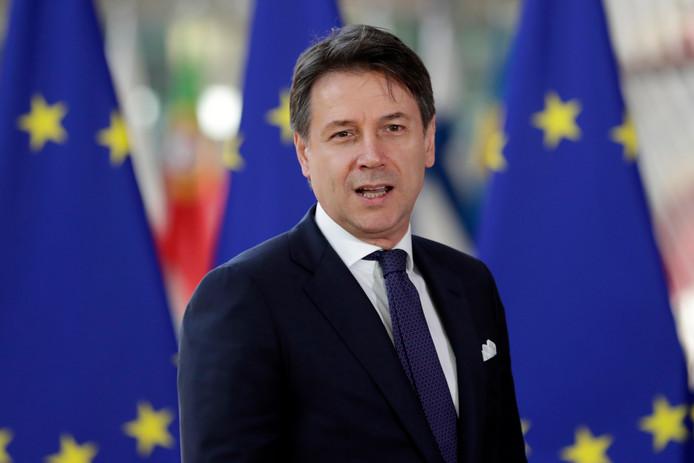 Le Premier ministre italien Giuseppe Conte.