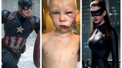 """Heldhaftig jongetje ontroert Hollywoodsterren: """"Ik herken een superheld wanneer ik er een zie"""""""