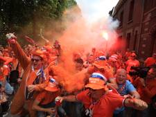 Foto's   Oranjefans nemen Valenciennes over