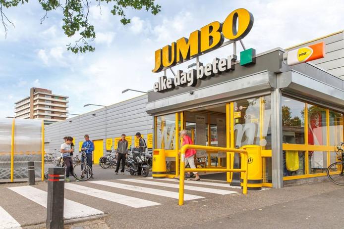 De Jumbo aan de Veemarkt in Zwolle.