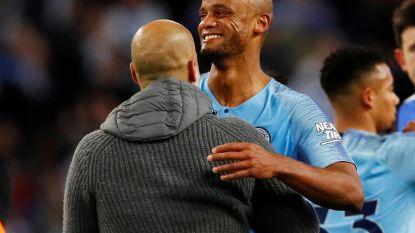 """Pep Guardiola smeekte Vincent Kompany om nog een jaar bij Man City te blijven: """"Nee, je mag niet gaan"""""""