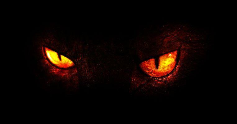 De rechters erkennen in feite het bestaan van de duivel wanneer ze concluderen: 'Ze handelt niet zelf, er wordt voor haar gehandeld'. Beeld ThinkStock