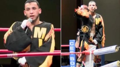 """Moedige bokser (18) laat broek zakken na kamp om zijn geheim te onthullen: """"Nu volgt een operatie"""""""