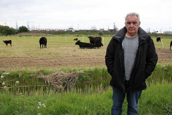 Alain Paenen van het Polders Actiecomité pleit voor een oplossing voor de Opstalpolder die gedragen wordt door alle polderbewoners.