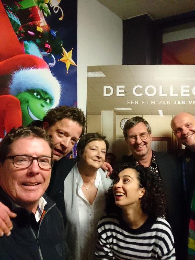 De cast van De Collega's 2.0 kwam langs in de bioscoop van Aalst.