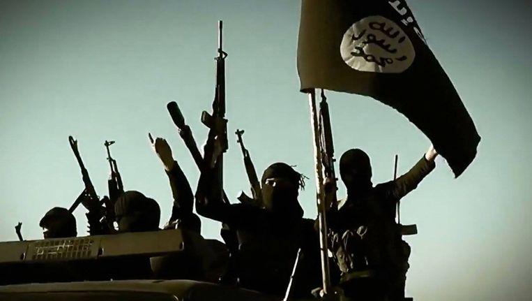 Beeld uit een propagandafilmpje van IS. Beeld Islamitische Staat