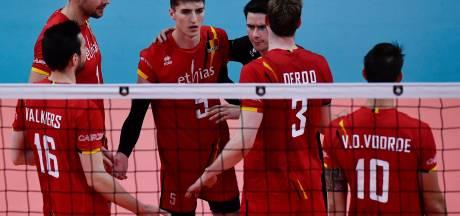 Euro de volley: la Belgique termine deuxième de son groupe après sa défaite contre la Serbie