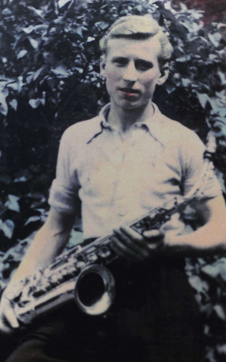De saxofoon is al 80 jaar 'zijn' instrument.