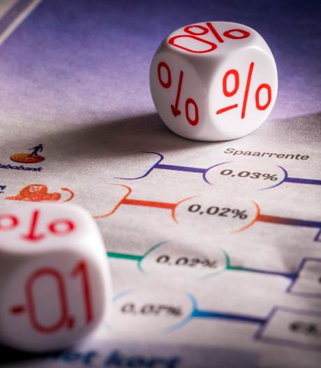 Spaarrente bij Rabobank zakt naar 0,01 procent