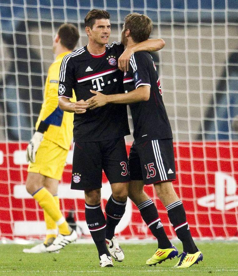 Bayern won met 1-0 bij Zurich. Beeld reuters