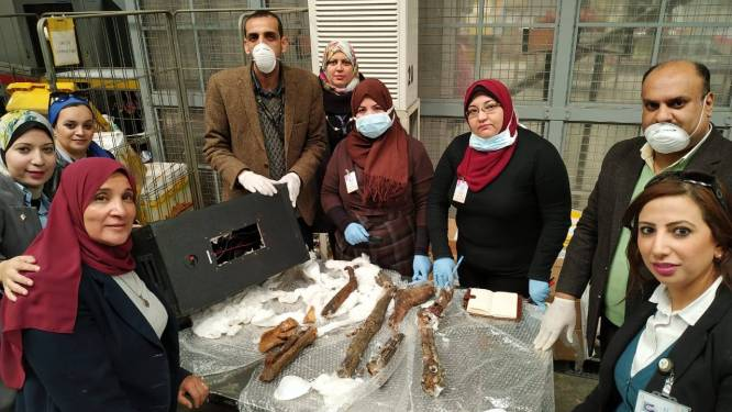 Egyptische douane onderschept passagier die resten van mummies naar België wilde smokkelen