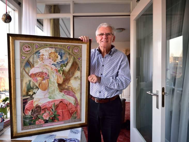 Het werk van Martinus (78) is wereldberoemd: 'Ik ben misschien wel de laatste plateelschilder van Gouda'
