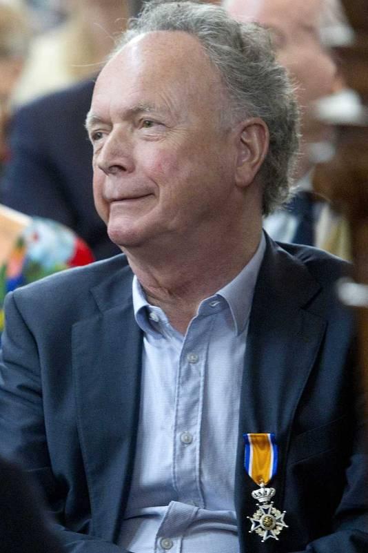 Paul Haenen met zijn lintje