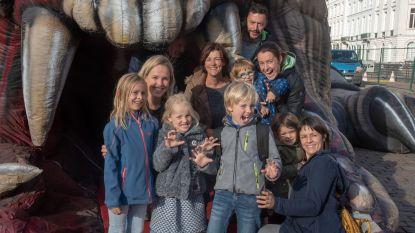 The Beast laat zich niet temmen op het Sint-Pietersplein