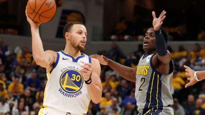 VIDEO. Golden State boekt zege tegen Indiana, Curry en co aan kop in het Westen