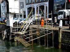 Achtergebleven steigeronderdelen bij Wolwevershaven 'geen gezicht'