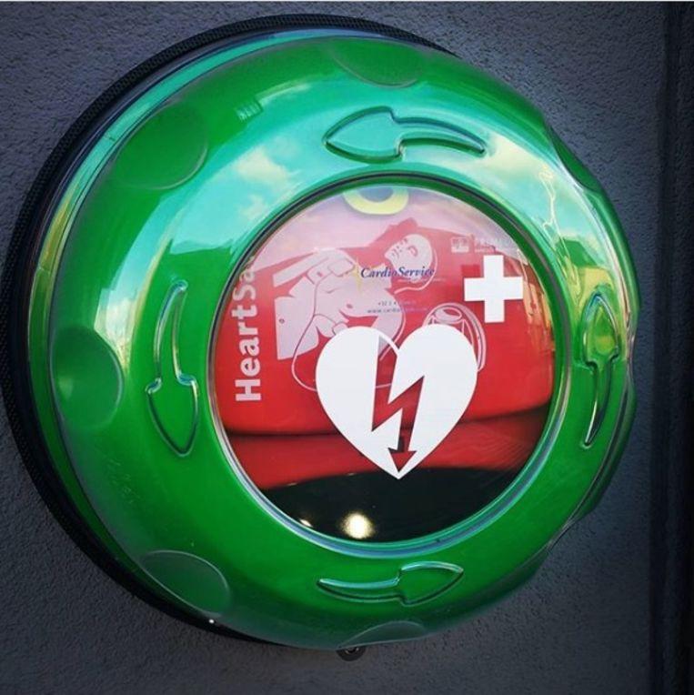 AED-toestel.