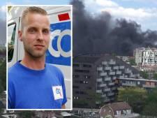 Rioolman Sander voorkwam met zijn watertank veel leed bij flinke brand in Eindhoven