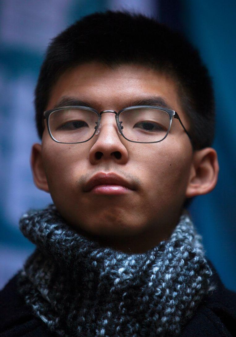 Activist Joshua Wong. Beeld EPA