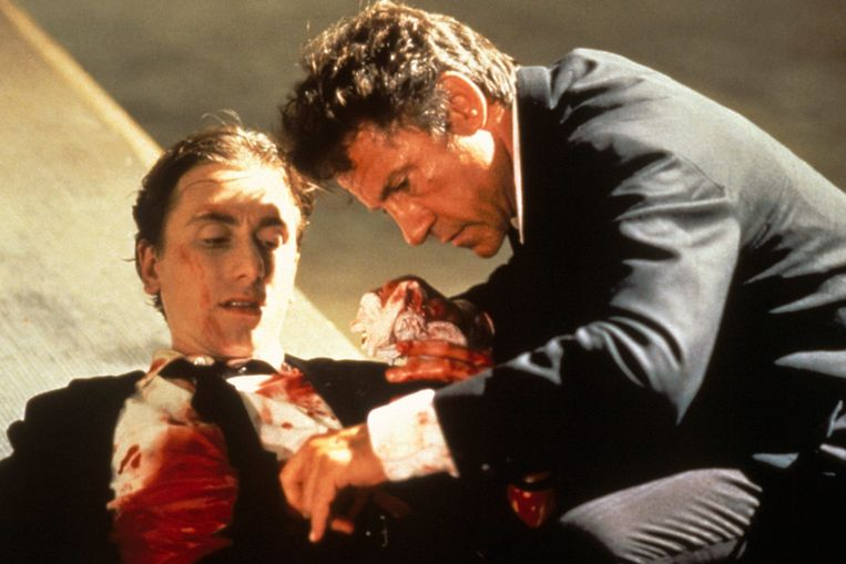 Tim Roth en Harvey Keitel in 'Reservoir Dogs' van Quentin Tarantino. Beeld