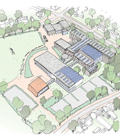 Grootste investering ooit in Halderberge: nieuwbouw Markland College