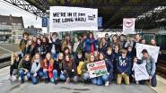 """Youth for Climate RSL sprokkelde 100 gratis treintickets bijeen,  slechts 60 jongeren mee naar Global Strike for Future: """"Blij met opkomst, maar  moeilijk om Roeselaarse jeugd te bereiken"""""""