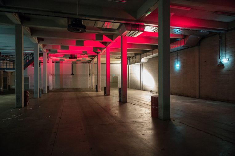 In The Warehouse kunnen feesten worden gegeven Beeld Mats van Soolingen