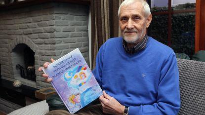 René schrijft samen met kleindochter boek
